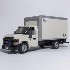 Camionnette Chevy C10, Lego Ambulance, Easy Lego Creations, Lego Truck, Lego Trains, Lego Construction, All Lego, Lego Room, Lego Worlds