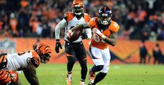Trevor Siemian has put the Broncos on his back. The Broncos' embattled quarterback shut down critics with four touchdown passes against the Bengals. His last one, a 55-yard