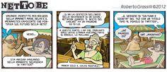 Net To Be in Color! nr.613 - agosto 2012 #disegniGrassilli #netobe #immanet #ClarenceCity #Holydays #Twitter #geek #tg2 #ilrestodelcarlino