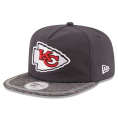 709673e3d Kansas City Chiefs New Era On Field Training Camp A-Frame Adjustable Hat -  Gray. Cool HatsSnapbackTrainingNfl ...