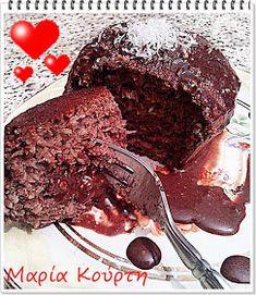 Συνταγές για διαβητικούς και δίαιτα: ΜΑΦΙΝΣ ΚΑΡΥΔΑ-ΣΟΚΟΛΑΤΑ χωρίς αλεύρι - ζάχαρη - λιπαρά Healthy Desserts, Sweet Recipes, Favorite Recipes, Sweets, Sugar, Cookies, Chocolate, Cake, Food