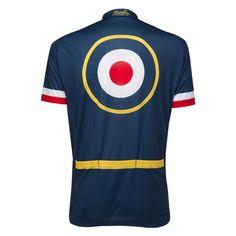 The Kilburn Flyer was de eerste Brit die ooit de Tour de France won. En dat niet alleen. Hij werd meerdere malen Olympisch Kampioen en Wereldkampioen. Zowel op de baan als op de weg. Dit is de achterkant van het wielershirt. http://www.retrocyclingshirts.com/nl/product/the-kilburn-flyer/