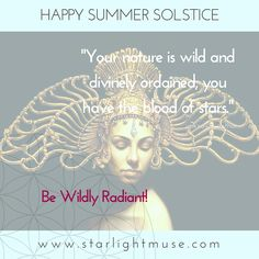 Wishing you a radiant summer season full of clarity, prosperity, and adventure.