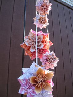 5 Kusudama Balls YOU CHOOSE The Colors Origami by TreeTownPaper, $90.00