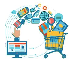 Ecommerce (or Electronic commerce) refers to the buying and selling of goods and services via electronic channels, primarily the Internet. 24-hour availability, global reach and generally efficient customer service are some of the advantages of #Ecommerce. ecommerce #website #design, ecommerce website.