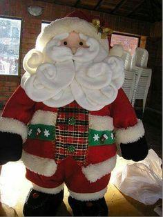 Papá Noel barbas