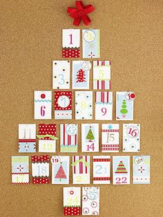 Countdown to Christmas: Crafts, Food and DIY Gifts: Advent Calendar (via Parents.com)