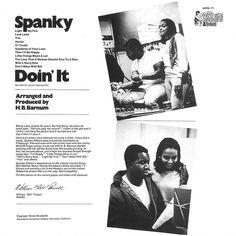spanky wilson doin' it