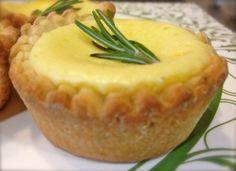 Rosemary Lemon Tarts look delicious.