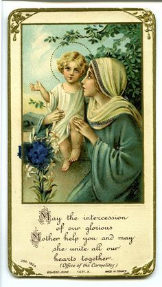 Blessed Mother with the child Jesus