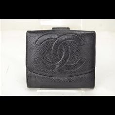 Chanel wallet was $375 Black leather Chanel wallet in good condition. Classic style. Perfect wallet for the girl who likes a smaller wallet than the traditional long wallet. Please refer to photos for detailed condition. Sale! CHANEL Bags Wallets