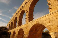 Ancient Roman Aqueduct, Pont du Gard