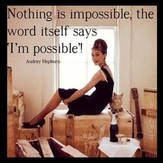 I love this quote! I'm possible! www.wrapkansas.com  #quotes #inspirational #workfromhome #itworks