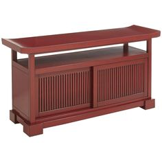 Bring Some Zen Into Your Living Room With This Asian Inspired Tv Stand Stereo Cabinet