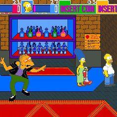 The Simpsons Arcade Machine from The Games Room Company's selection of Retro Arcade Machines Retro Arcade Machine, The Simpsons, Arcade Games, Bobs, Retro Vintage, Bob Cuts, Bob Haircuts, Bob