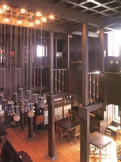 Library designed by Charles Rennie Mackintosh at the Glasgow School of Arts, Scotland