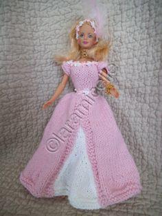 "tuto gratuit barbie: robe de princesse ""Corinne"" - laramicelle"