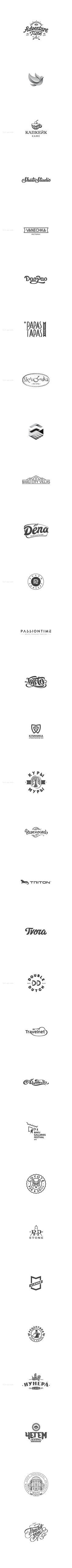 30 Logos of 2013 by Igor Hrupin, via Behance