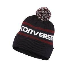 Converse Jacquard Pom Watchcap Knit Hat (Blue) - Clearance Sale Converse 92affbd188a0
