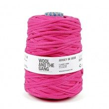 Wool and the Gang // Wool And The Gang Jersey Be Good – Hot Pink