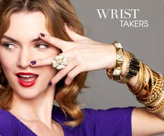 "Are you a ""wrist"" taker? #jewelry"