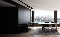 Darling Point is a minimalist apartment located in Sydney, Australia, designed by Redgen Mathieson. Darling Point is bounded by Sydney Harbour to the north, Double Bay to the east and Rushcutters Bay to the west. The interior of this apartment was stripped out in its entirety and a new sequence of rooms inserted. A series of linked, but separate, spaces are arranged along the perimeter to maximize access to the water views. Bedrooms face east, living spaces orientate north to Sydney Harbour…