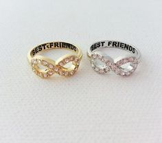 crystal BFF infinity