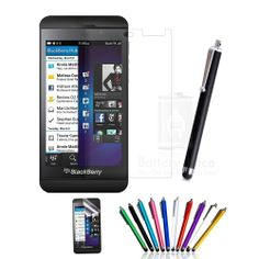 2x 5x 10x 20x High Quality Clear Screen Protectors & Stylus For Blackberry Z10