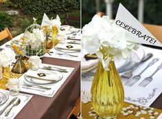 Anthropologie-inspired graduation party - Keys to Success!