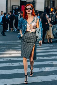 October 1, 2016 Tags Sunglasses, Paris, Denim, Balenciaga, Taylor Tomasi Hill, Alaïa, SS17 Women's