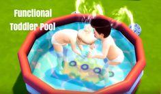 The SimsCake: Download: Functional Toddler Pool