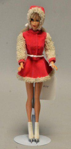 """1969 Standard Barbie """"Skate Mates"""" #1793.  Used to dress Barbie up in this outfit!!"""