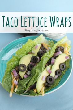 Taco Lettuce Wraps - BusyBeingJennifer.com