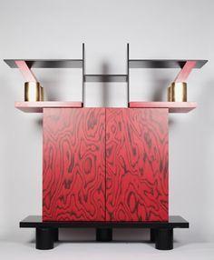 "Ettore Sottsass (designer), ""Freemont"" Sideboard Cabinet, 1985"