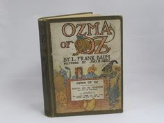 Ozma of Oz by L. Frank Baum Antique 1907 Hardcover Book Wizard of Oz Story - Etagere Antiques, Vintage, Collectibles