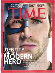 un tumblr parodique imagine les Avengers en vrai sur des couvertures de magazines.