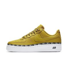 huge discount ae0f3 739d5 Nike Air Force 1  07 SE Premium Overbranded Women s Shoe Size 5 (Bright  Citron)