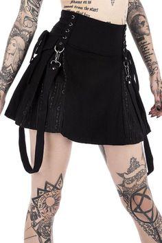 Sinister Scouts Mini Skirt [B] | KILLSTAR