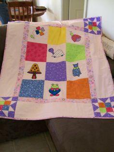 Quilt I made for my neice Danijela