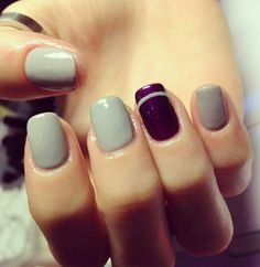 Shellac like the gray wouldn't do the purple
