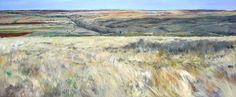 Resultado de imagen para cuadros  de paisajes pintados al  oleo  solo con manchas