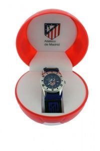 Atlético Madrid CF Reloj Infantil Velcro Azul licencia Atletico Madrid CF #Grandetalles