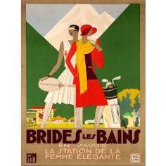 Brides Les Bains Canvas Art