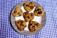 Borboletando | Cookies Integrais de Chocolate 700.000000e 0 Frutas Vermelhas | http://www.borboletando.org