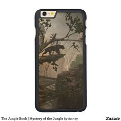 The Jungle Book | Mystery of the Jungle Carved® Maple iPhone 6 Plus Case #carcasas #cases