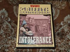 Intolerance (DVD, 2002) 1st Kino Video/DW Griffith 1916 Silent Epic Masterpiece!