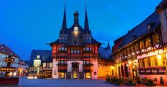 Marktplatz in Wernigerode - Kurzurlaub im Harz