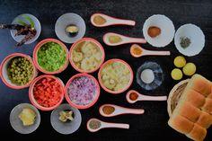 Pav bhaji recipe ingredients
