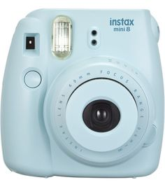 Fujifilm Instax Mini 8 Blue Instant Camera, Blue FUN LITTLE CAMERA!