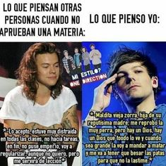 Read from the story Memes de One Direction by (𝖒𝖚𝖘𝖊) with reads. One Direction Cartoons, One Direction Facts, One Direction Louis, One Direction Imagines, Larry Shippers, 1d And 5sos, Larry Stylinson, Education Quotes, Louis Tomlinson